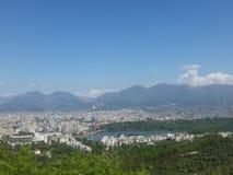 Capital of Albania, Tirana Royalty Free Stock Image