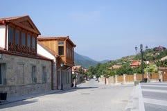 Capital antigo de Geórgia - Mtsheta, perto a Tbil Imagens de Stock Royalty Free