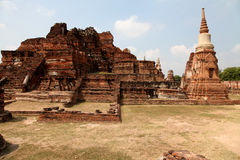 Capital antique d'Ayuthaya du Siam Photographie stock