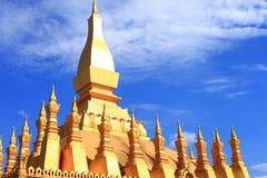 Capital av laos Royaltyfri Fotografi