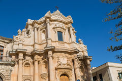 The capital of the Baroque. the old town was declared a World Heritage Site Royalty Free Stock Photography