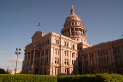 Capital Building Austin Texas Government Building Blue Skies Royalty Free Stock Photos