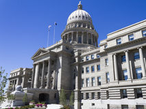 Capital building in boise idaho Royalty Free Stock Images