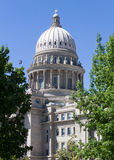 View of the boise capital building Royalty Free Stock Photography
