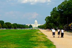 Capital Building at National Mall Stock Images