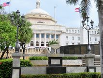 The Capital Building in San Juan, Puerto Rico Stock Photography