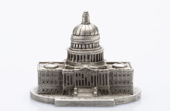 Capital Building Statue Stock Photography