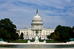 Capital Building, Washington Royalty Free Stock Photography