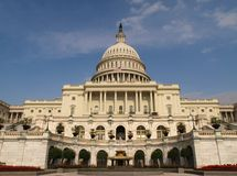 Capital Building, Washington DC Royalty Free Stock Photography