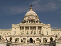 Capital Building, Washington DC Royalty Free Stock Photo