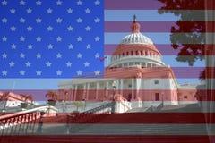 Capital building Washington DC stock image