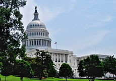 Capital Building. In Washington,DC royalty free stock images