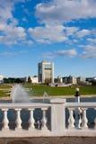 Capital of Chuvashiya the city of Cheboksary Stock Photos