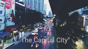 The Capital City royalty free stock photo
