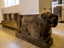 Assyrian Sculptures in Museum In Berlin Germany Stock Images