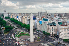 The Capital City of Buenos Aires in Argentina. Buenos Aires is the capital city of Argentina in South America Stock Photo
