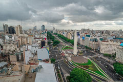 The Capital City of Buenos Aires in Argentina stock images