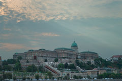 The Capital City of Hungary, Budapest royalty free stock photography