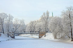 Capital city of Latvia Riga. Capital city of Latvia Riga in a cold winter day Royalty Free Stock Photo