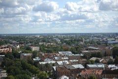 Capital city of Latvia Riga. View of Capital city Latvia - Riga Royalty Free Stock Image