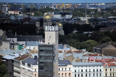 Capital city of Latvia Riga. Royalty Free Stock Image