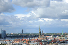 Capital city of Latvia Riga. Stock Image
