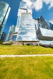 Capital city - multifunctional complex, which is part of the Moscow city, consisting of two towers - Moscow and St. Petersburg. City the Moscow . Capital city royalty free stock image