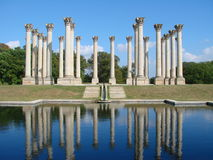 Capital Columns Royalty Free Stock Photography