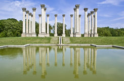 Capital Columns Royalty Free Stock Images