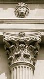 Capital of corinthian column Royalty Free Stock Photography