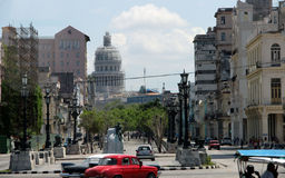 Capital of Cuba - Havana. Photo of the central part of Havana – Cuba stock photo