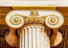 Capital da coluna ionian Imagem de Stock Royalty Free