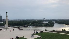 Capital de Belgrado de Serbia metrajes