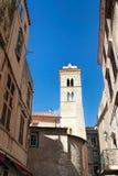 Capital de Bonifacio -de Picturesquede Córcega, Francia Imagen de archivo