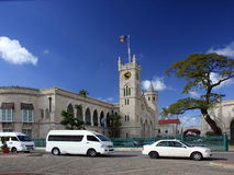 Capital de Bridgetown de Barbados imagem de stock