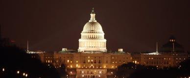 Capital de C.C la nuit photo stock