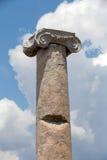 Capital de coluna Ionian, fotografia de stock royalty free