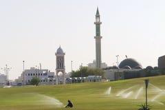 Capital de Doha de Qatar Imagen de archivo libre de regalías