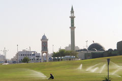 Capital de Doha de Qatar Imagem de Stock Royalty Free