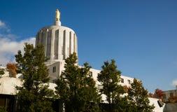Capital de estado Salem Oregon Government Downtown Imagem de Stock
