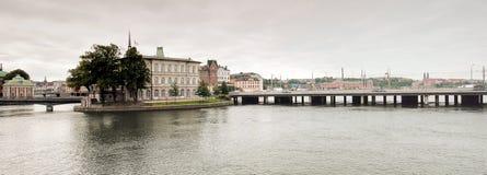 Capital de Estocolmo de los Vikingos. Fotografía de archivo
