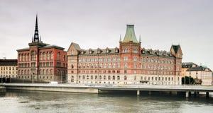 Capital de Estocolmo de los Vikingos. Foto de archivo