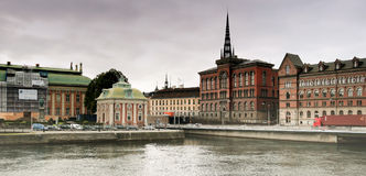 Capital de Estocolmo de los Vikingos. Fotografía de archivo libre de regalías
