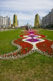 Capital de Kazakhstan Astana. Fotos de Stock