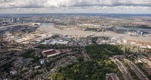Capital de l'entreprise de l'Europe, Londres Photo libre de droits