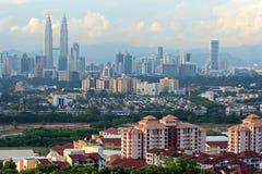 Capital de la Malaisie - Kuala Lumpur Photos stock
