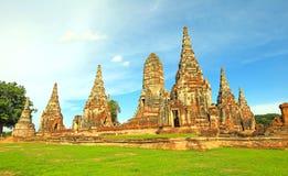 Capital de la ruina de la Tailandia vieja fotos de archivo