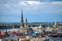 Capital de Letónia Riga Imagem de Stock