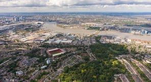 Capital de los negocios de Europa, Londres Fotografía de archivo