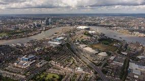 Capital de los negocios de Europa, Londres Imágenes de archivo libres de regalías